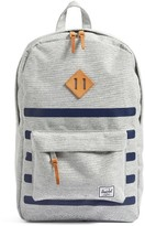 Herschel Men's Heritage Offset Backpack - Grey