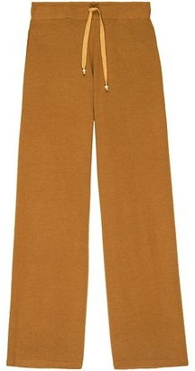 DONNI Cropped Flare Sweatpants