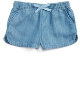 Vineyard Vines Toddler Girl's Chambray Pull-On Shorts