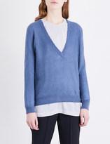 Brunello Cucinelli V-neck knitted jumper