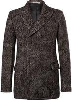Bottega Veneta - Double-breasted Wool-blend Tweed Blazer