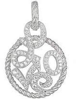 Judith Ripka Sterling Silver Diamonique Love Enhancer