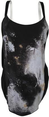 Helmut Lang Black Silk Tops