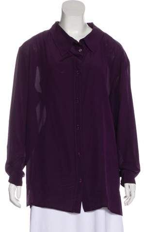 Stella McCartney Silk Oversize Tunic