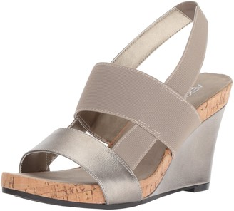 Aerosoles Women's Magnolia Plush Wedge Sandal