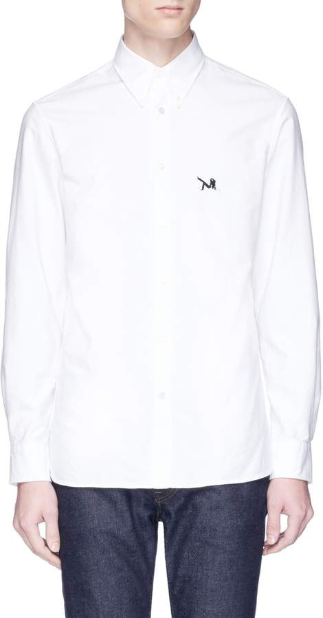 Calvin Klein Graphic patch Oxford shirt
