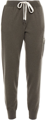 Brunello Cucinelli Bead-embellished Cashmere Track Pants