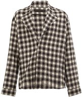Haider Ackermann checked shirt - men - Cotton/Wool - M