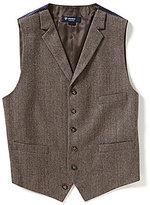 Daniel Cremieux Highland Peaks Collection Travis Herringbone Vest