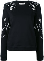 Valentino decorative jumper - women - Cotton/Polyamide - XS
