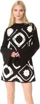 McQ by Alexander McQueen Alexander McQueen Crochet Square Dress