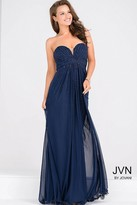 Jovani Sweetheart Neck Beaded Bodice Long Dress JVN45683