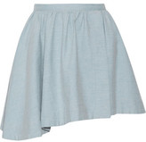 IRO Altea Asymmetric Cotton Mini Skirt