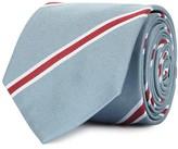 Paul Smith Navy Striped Silk Tie