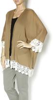 Umgee USA Crochet Trimmed Kimono