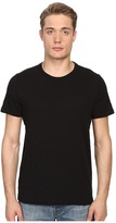 Vince Short Sleeve Slub Crew Neck Shirt Men's Short Sleeve Pullover