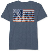 Hybrid Men's American Flag Palm Tree T-Shirt