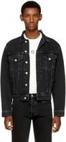 Balenciaga Black Classic Denim Jacket