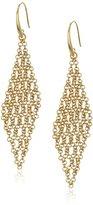 "Diane von Furstenberg Atlantis"" Woven Chain Chandelier Drop Earrings"
