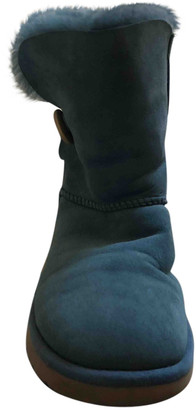UGG Turquoise Suede Boots