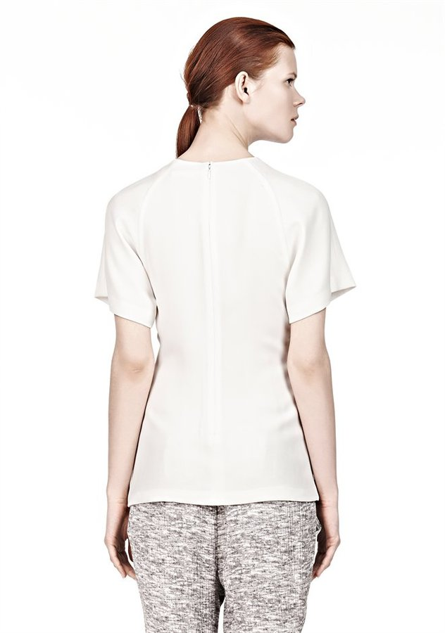 Alexander Wang Twisted Front Raglan T-Shirt
