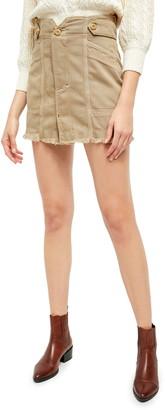 Free People Alpha Utility Miniskirt