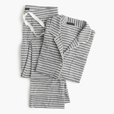 J.Crew Dreamy cotton pajama set in stripe