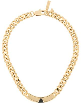 Coup De Coeur Onyx chain necklace
