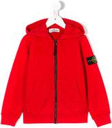 Stone Island Junior classic zipped hoodie