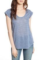 Joie Women's Neyo Stripe Linen Tee