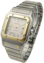 CARTIER Cartier Santos Galbee Steel And Gold Automatic W20041c4