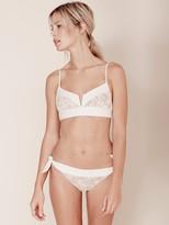 For Love & Lemons Swim Ibiza Bottom in White