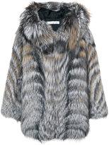 Oscar de la Renta hooded coat