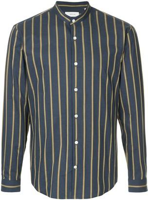 Cerruti Mandarin Neck Striped Shirt