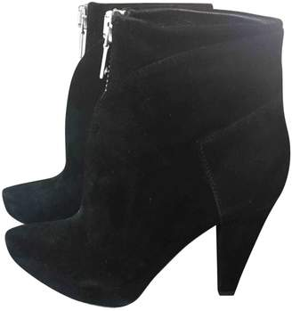 Proenza Schouler \N Black Suede Ankle boots