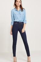 Dynamite Kate Dark Wash High Rise Skinny Jeans