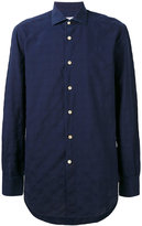 Kiton plain shirt - men - Cotton - 38