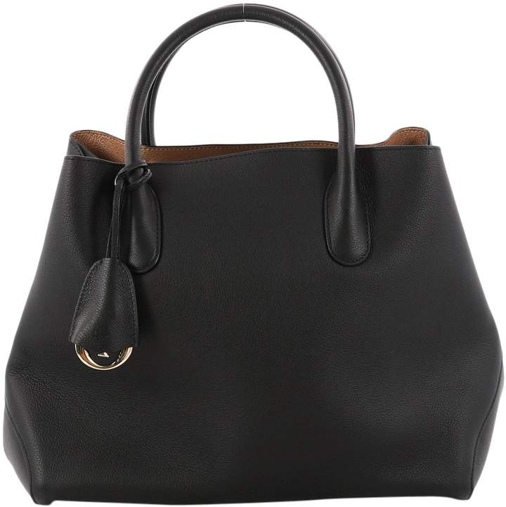 Christian Dior Open Bar leather handbag