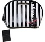 Victoria's Secret Cosmetic Make Up Bag Beauty Travel Pouch, Organizer New York Exclusive Striped