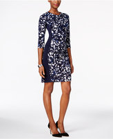 Jessica Howard Graphic-Print Sheath Dress
