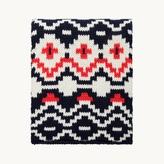 Maje Jacquard knit scarf