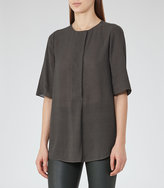 Reiss Carine Short-Sleeved Top