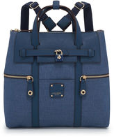 Henri Bendel Jetsetter Convertible Denim Backpack