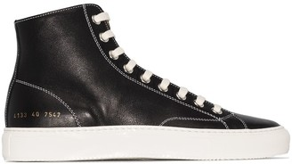 Common Projects Tournament high-top sneakers