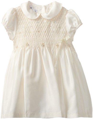 Bonnie Jean Girls 2-6x Smocked Shantung Dress