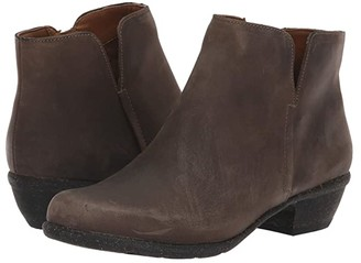 Clarks Wilrose Frost (Taupe Oiled Leather) Women's Shoes