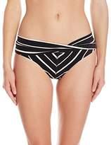 Robin Piccone Women's Harper Twist Cuff Bikini Bottom