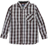 Andy & Evan Plaid Woven Shirt (Toddler & Little Boys)