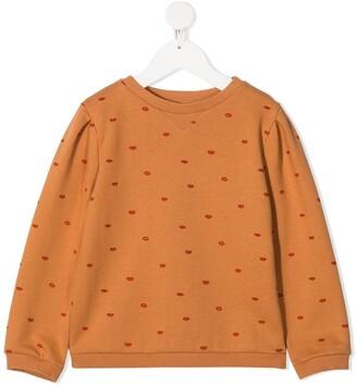 Emile et Ida Lips pattern sweatshirt