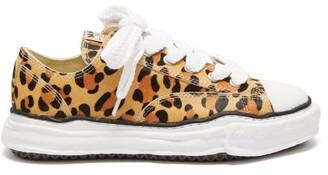 Miharayasuhiro Mihara Yasuhiro - Peterson Original Sole Leopard-print Trainers - Leopard